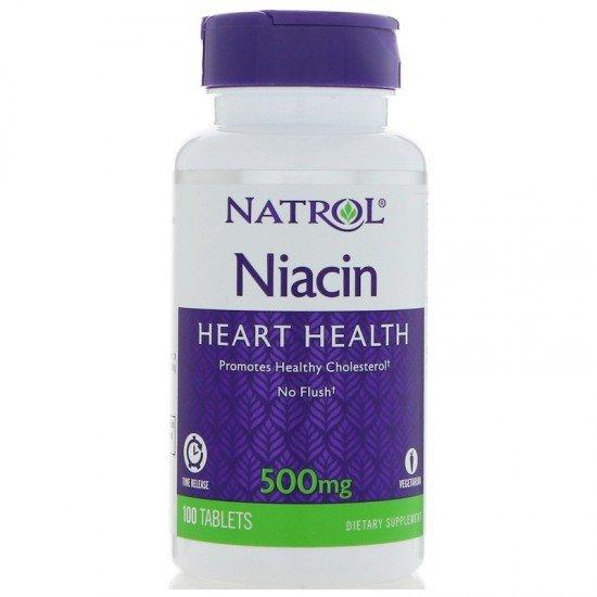 Natrol Niacin 500mg - Time Release