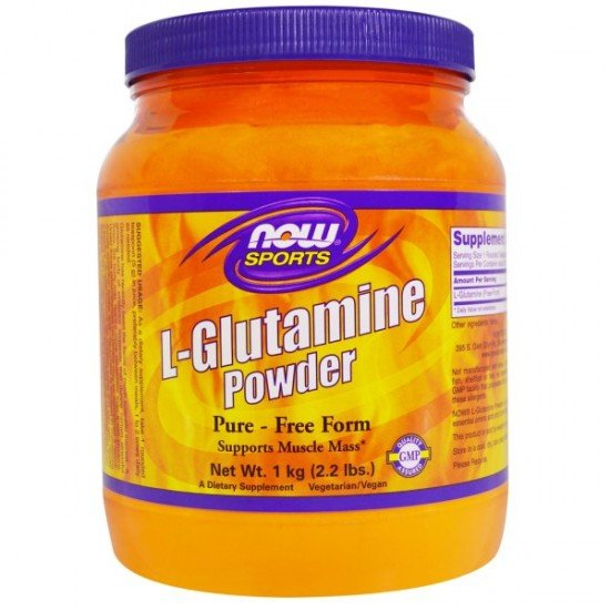 Now Foods Glutamine Powder