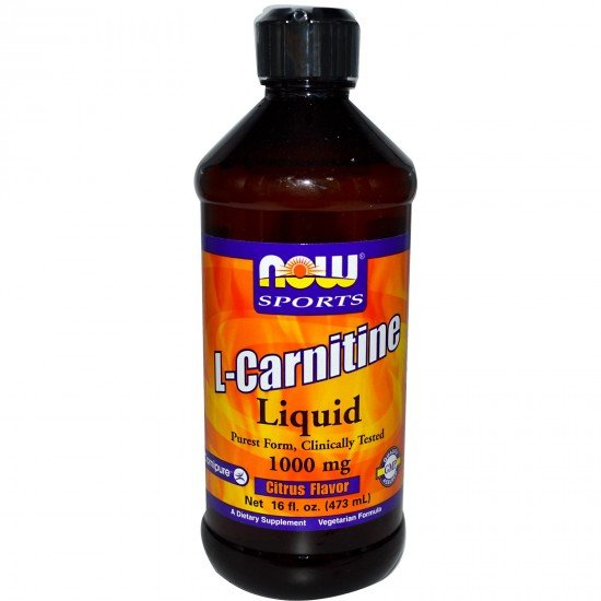 Now Foods L-Carnitine Liquid 31 гр