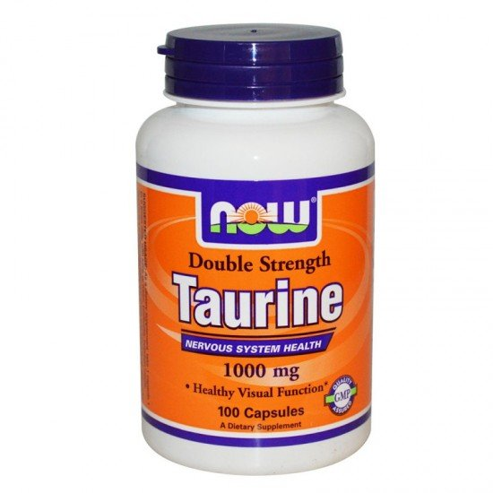 Now Foods Taurine 1000 мг