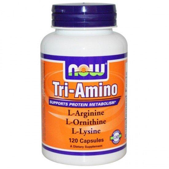 Now Foods Tri-Amino Arginine/Ornithine/Lysine