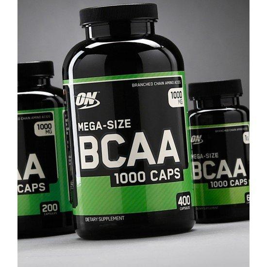 Optimum Nutrition BCAA 1000 Mega Size