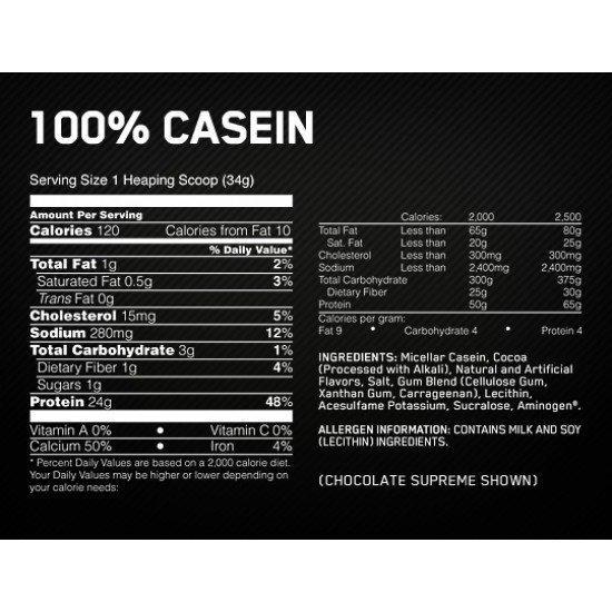 Optimum Nutrition 100% Casein Gold Standard