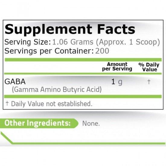 Pure Nutrition GABA Powder 212 grams