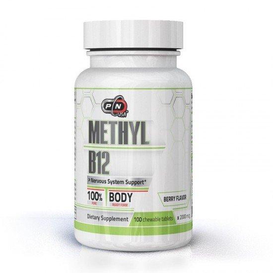Pure Nutrition METHYL B-12 2000 mcg 100 lozenges