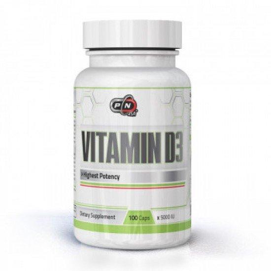 Pure Nutrition Vitamin D3 5000 IU