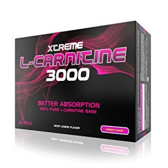 Xcore Nutrition L-Carnitine 3000mg 20 ampules