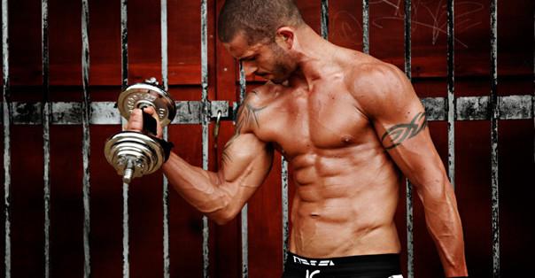Athlete's Testobol увеличава мускулите.