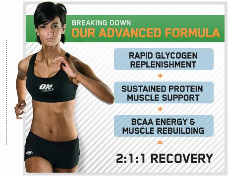 Recovery е гейнър, който подобрява спортните резултати.