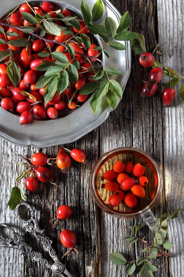 Prozis Foods Vitamin C 500mg + Rosehip съдържа шипки, които са много полезни за цялостното състояние на здравето