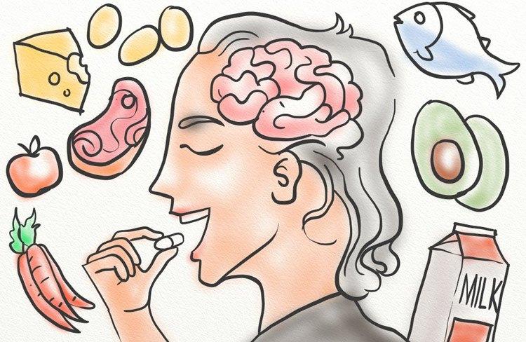 Витамин В12 подобрява паметта и работата на нервната система