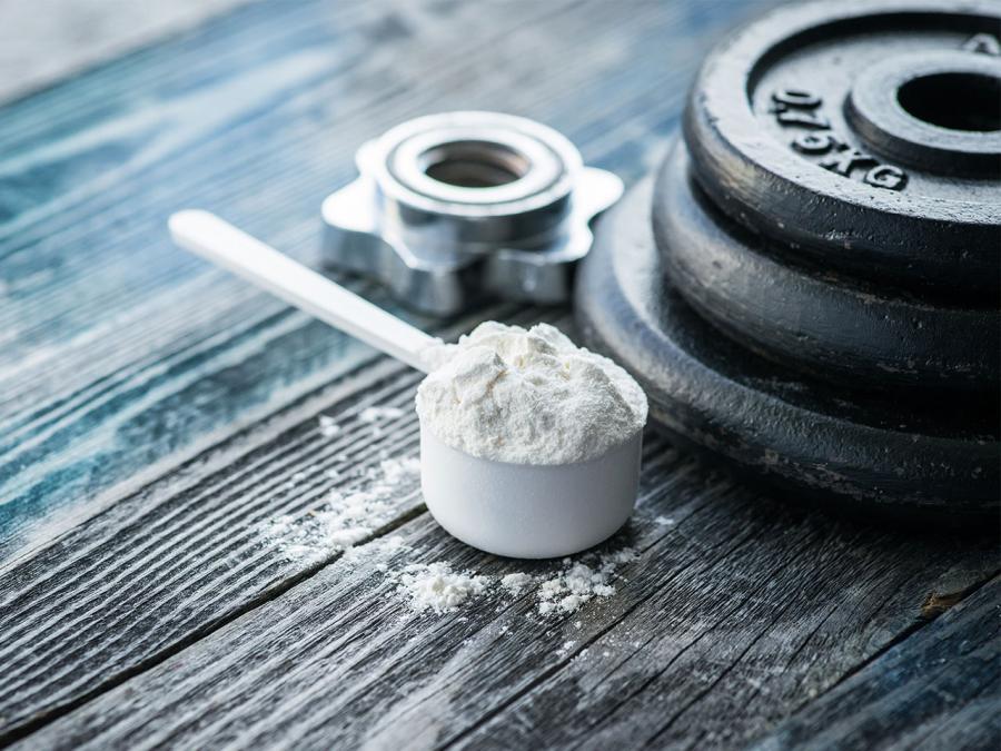 Universal Nutrition Creatine помага за поддържане на силите по време на трениране